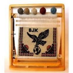 Beşiktaş Kartal Minyatür Halı 28x33 Ebat