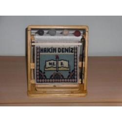 Öğretmenler için Minyatür Halı 28x33 Ebat