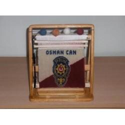 Polis Teşkilatı Minyatür Halı 28x33 Ebat